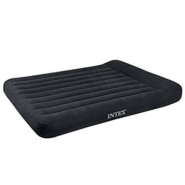 Intex Pillow Rest Classic Airbed with Built-in Pillow, Full