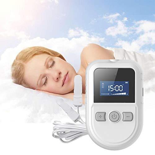 SUN RNPP Dispositivo de Tratamiento de insomnio, estimulación de electroterapia craneal Ces, analgésico para el Dolor de Cabeza, depresión y ansiedad para Uso doméstico