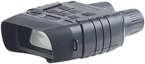 Zavarius Nachtsichtfernglas: Nachtsichtgerät binokular, bis 700 m IR-Sichtweite, microSD-Aufnahme (Fernglas Kamera)