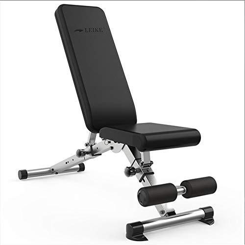 AWJ Multifunktionale klappbaren Hantelbank für Bauch Fitness Gewichtheben Ausbildung Stuhl Übung Ausrüstung Werkzeuginnen Turnhalle