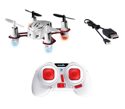 Revell Mini Quadrocopter Nano Quad 23970 2,4 GHz 4 Kanal USB Lade Kabel weiß RC