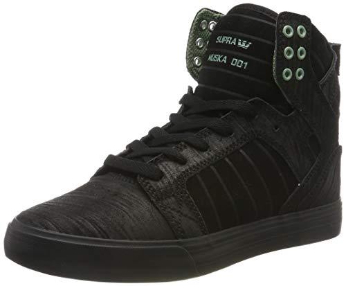 Supra Unisex-Erwachsene Skytop Hohe Sneaker, Schwarz (Black/Hedge-Black-M 50), 43 EU