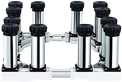 Estante multifuncional para lavadora con base para frigorífico y congelador Ancho / largo universal 40-65 cm Soporte para lavavajillas Soporte para evitar arañazos Altura 19-22 cm Para secadora, lava