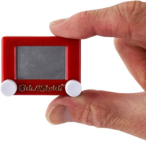 World's Smallest Etch A Sketch. A dinky, pocket-sized version of the classic toy. Relieve boredom while out and about.