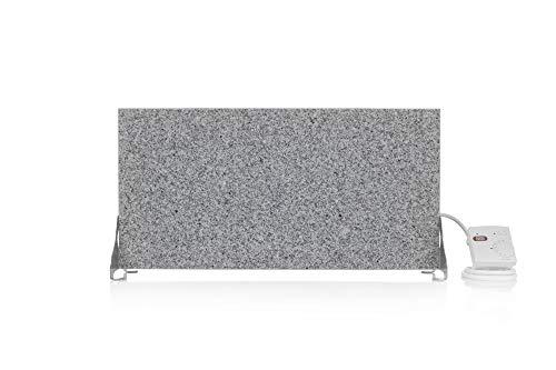 Magma Infrarotheizung 400Watt (Granit grau-weiß) Stand-Variante mit Steckdosenregler - 5