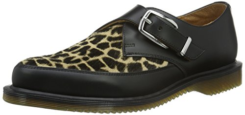 Dr. Martens Damen Hawley Smooth Slipper, Schwarz (Black), 40 EU