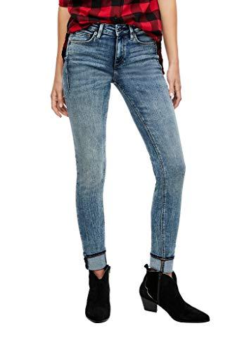 Q/S designed by - s.Oliver Damen 510.10.009.26.180.2052890 Jeans, Blue, 34/30
