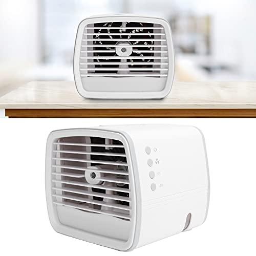 BOLORAMO Mini acondicionadores de Aire del Espacio, humidificador de Niebla Fresca 480ml Alimentado por USB refrigerado por Agua para la Escuela para la Oficina