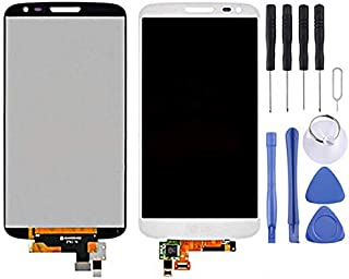HAGUO AYSMG LCD Display + Touch Panel for LG G2 mini D620 / D618(Black) (Color : White)