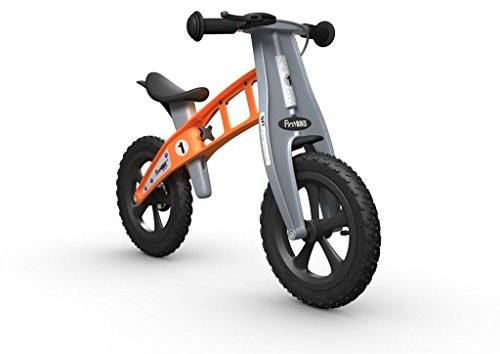 FirstBIKE Cross Balance Bike with Brake, Orange - for Kids & Toddlers Ages 2,3,4,5, 32.7 x 15 x 22 inches ; 7.5 pounds, Model:L2018