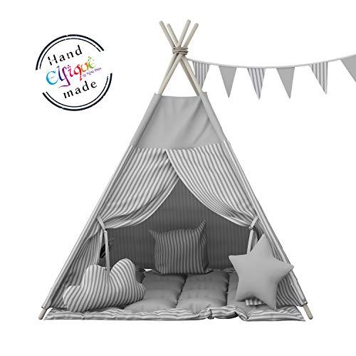 Elfique Carpa infantil Tienda campaña infantile con manta de Klara Brist