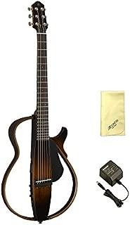 【愛曲クロス付】【純正電源アダプター/PA-3C付】YAMAHA/ヤマハ SLG200S/TBS サイレントギター スチール弦モデル