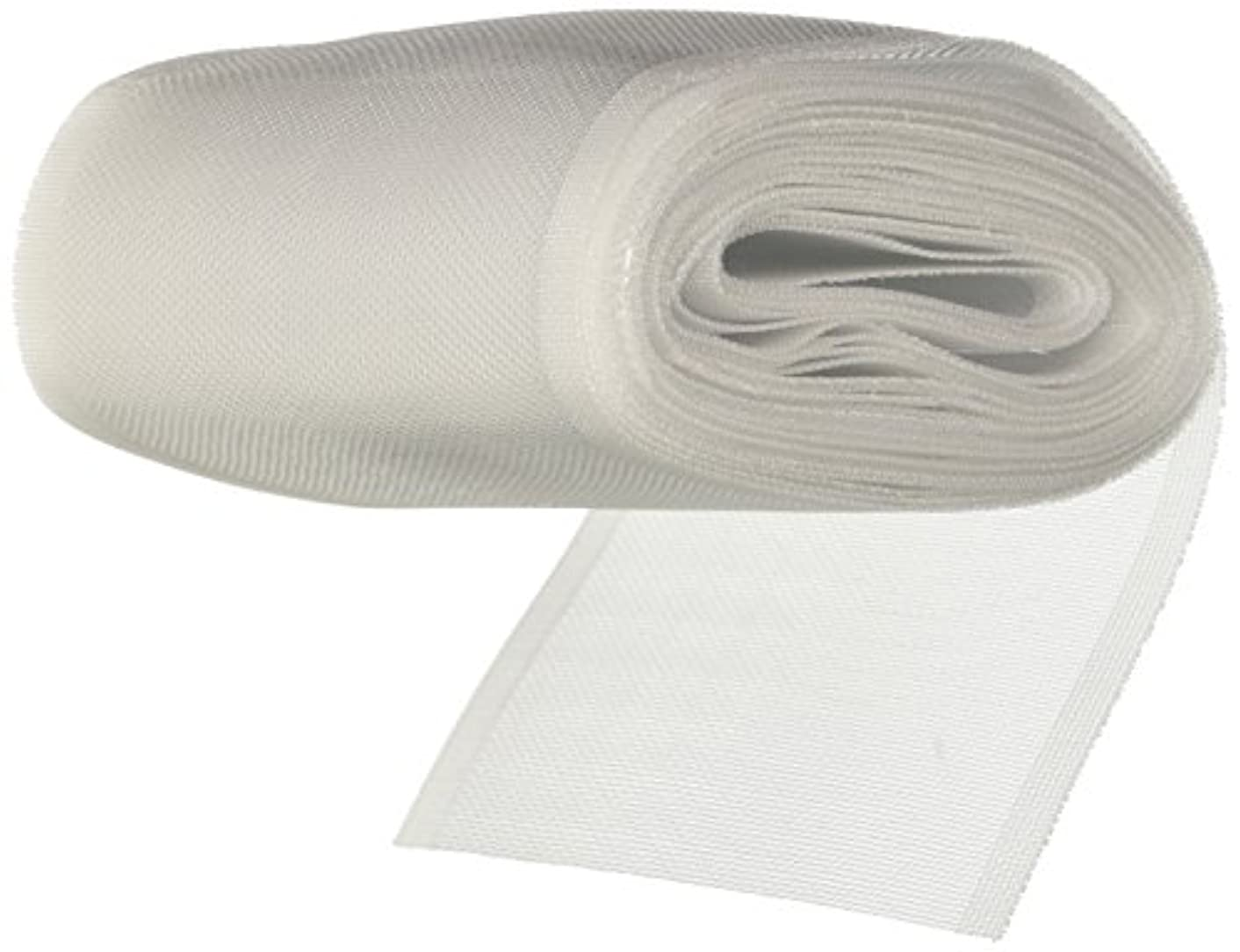 Dritz Home 44500 Woven Rod Loop Tape, 4-Inch x 6-Yards, White