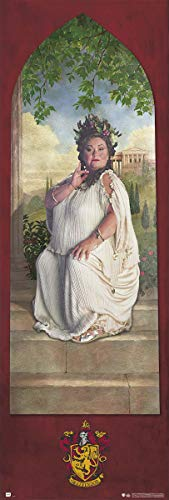 Harry Potter - Door Movie Poster (The Fat Lady - House Gryffindor - Version 2) (Size: 21 inches x 62 inches)