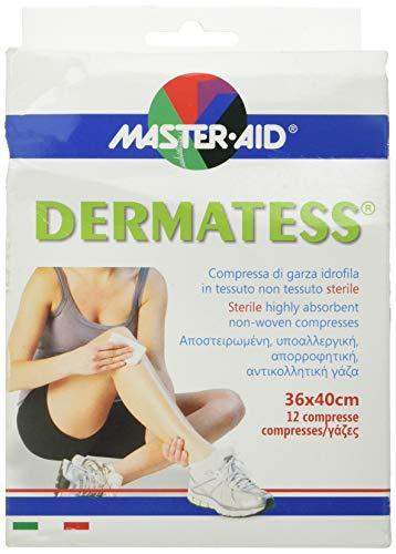 Master Aid Dermatess 36 x 40 cm, 12 Pezzi - 1 Prodotto