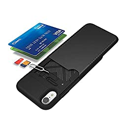80%OFF Maxace Hybrid Case Compatible iPhone XR, Soft Silicone + PC 2 in1