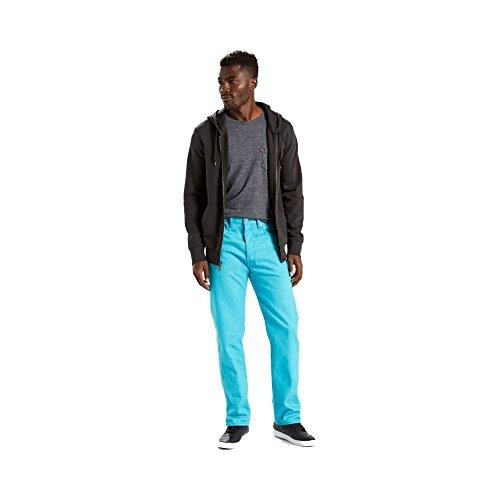 Levi's 501 jeans de ajuste original para hombre - Azul - 36W x 30L