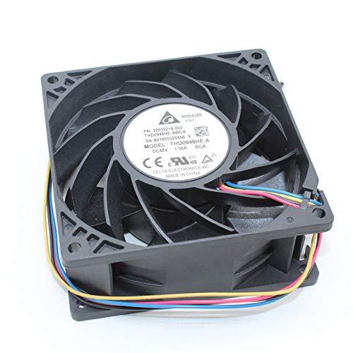 Zyvpee Ventilador de servidor para HW P/N: 32030218 AOK7000431 92mm THD0948HE 48V 1.50A 4Wire PWM THD0948HE-ABGA THD0948HE-DH31