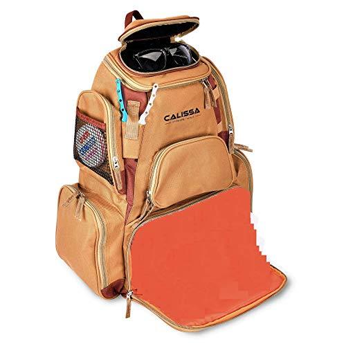 The X-Large 'Blackstar' Fishing Backpack, Tackle Box Storage Bag - Non-Corrosive Fishing Tackle Bag with (4x)3650 Boxes...