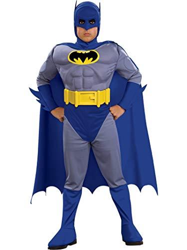 "Rubie's Offizielles Kinder-Kostüm ""Batman: The Brave and The Bold"" (Muskelbrust) –Größe M"