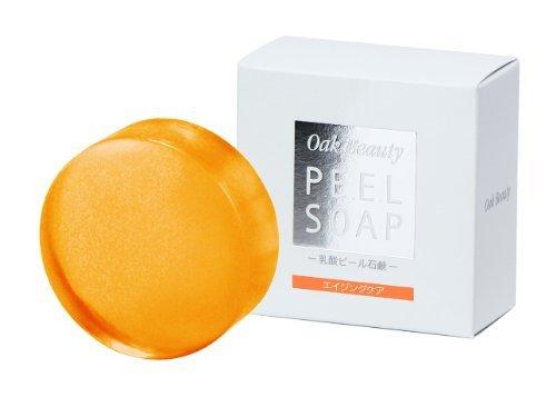 乳酸ピール石鹸 ―エイジングケア―(ピーリング石鹸~年齢肌でお悩みの方におすすめの洗顔石鹸~)