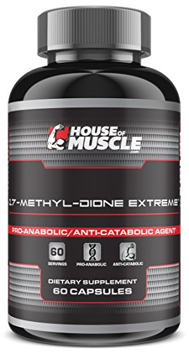 17-Methyl-Dione Extreme - Advanced Muscle Building Supplement - 60...