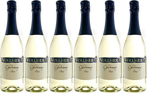 Roland Vollmer Chardonnay Sekt Brut (herb) (6 x 0.75 l)