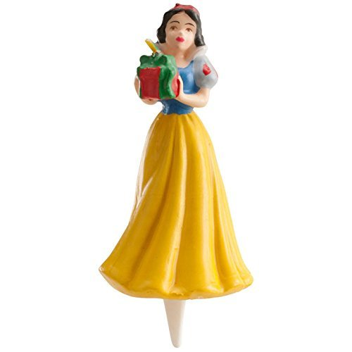 Les Pack Noir lcn - Candela da principessa, 3D, motivo: torta di compleanno per ragazza, 272