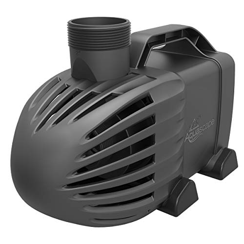 Aquascape 91131 EcoWave 2000 GPH Mag-Drive Pond and Waterfall Pump, Black