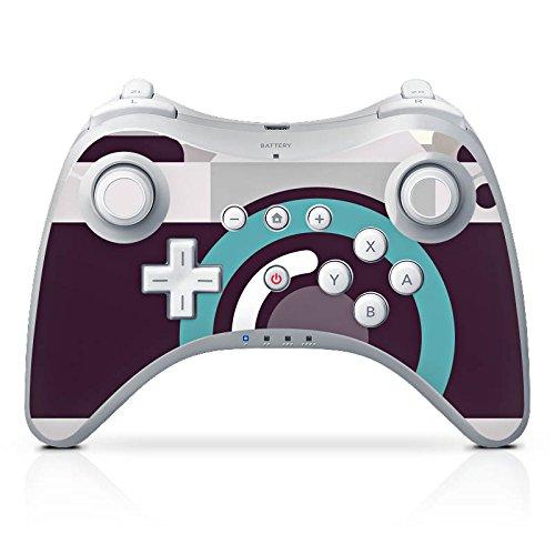 DeinDesign Skin Aufkleber Sticker Folie für Nintendo Wii U Pro Controller Kamera Symbol Linse