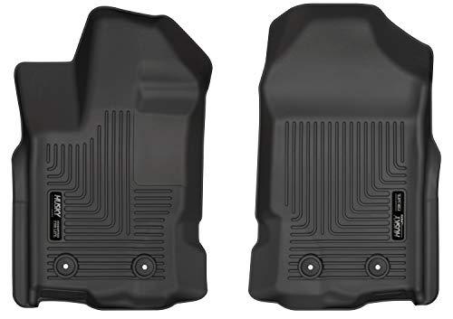 Husky Liners 13411 Black Weatherbeater Front Floor Mats Fits 2019 Ford Ranger