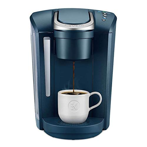 Keurig K-Select, Single Serve K-Cup Pod Coffee Maker, Strength Control, Marine Blue