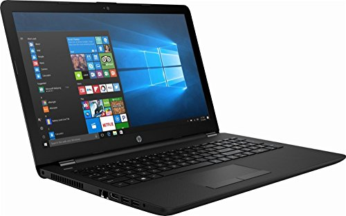"""HP 15.6"""" HD WLED Backlit Display Laptop, AMD A6-7310 Quad-Core APU 2GHz, 4GB RAM, 500GB HDD WiFi, DVD+/-RW, Webcam, Windows 10, Black"""