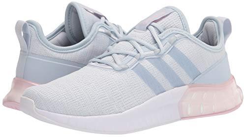 adidas Women's Kaptir Super Running Shoe, Halo Blue/Halo Blue/Dark Grey, 8.5
