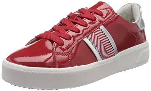 Tamaris Damen 1-1-23750-24 Sneaker, Rot (Chili PATENT 520), 38 EU
