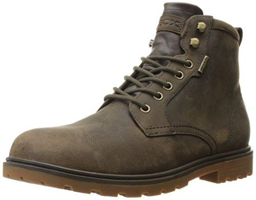 Geox Makimbabx3 - Zapatos de Lluvia para Hombre, Color Marrón, Talla 45 EU