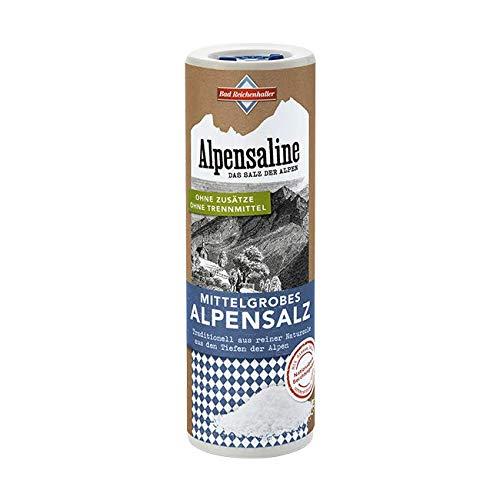 Bad Reichenhaller Alpensaline Alpensaline Mittelgrobes Alpensalz, 380 g