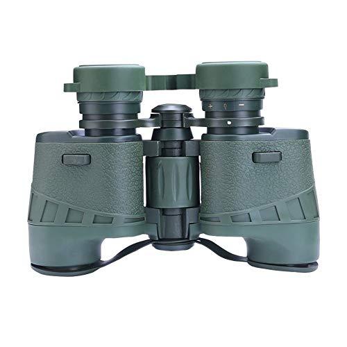 Metall-Fernglas 7x32-Fernglas, Russisches Militär-Fernglas, Zusammenklappbares Mini-Fernglas, Vogelbeobachtungsjagd (Color : Green)