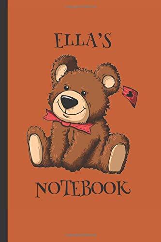 Ella's Notebook: Girls Gifts : Cute Cuddly Teddy Journal