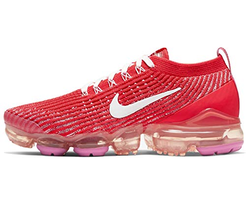 Nike VaporMax Flyknit 3 'Track Red/White/Pink Foam' Women's Shoe