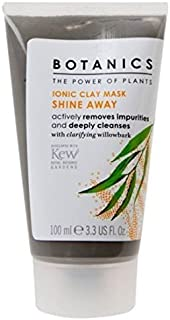 Boots Botanics Ionic Clay Mask Shine Away Actively Removes Impurities and Deeply Cleanses 100 ml