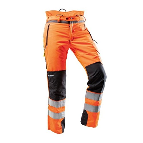 Pfanner Hi-Vis Orange Chainsaw Pants - Large