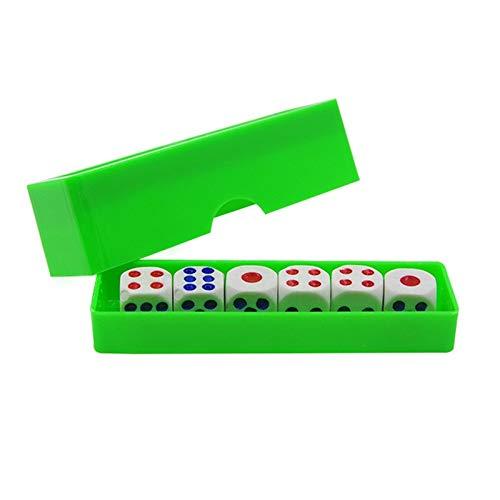 Muy sorprendentes juegos de magia Dados de predicción (normal dados) Trucos de magia Seis Die Cambio flash Magia primer plano truco Puntales Ilusión divertidos juguetes for niños Mostrar