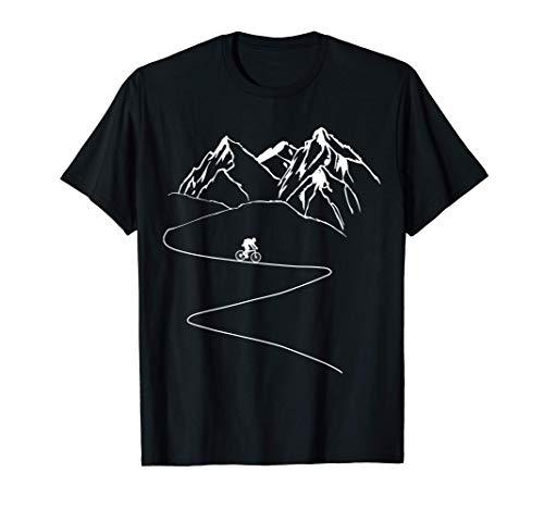 Bicicleta De Montaña Descenso MTB Bicicleta Ciclista Regalo Camiseta