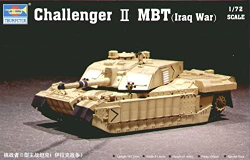 Trumpeter 07215 BritishChallenger II Iraq War 1 72 by Trumpeter