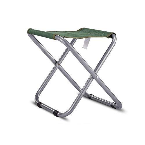 YQQ-Chaise pliante Portable De Plein Air Tabouret De Pêche Acier Stable 30 * 26CM