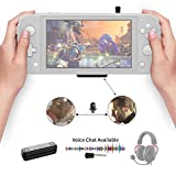 Gulikit Route Air Pro Bluetooth Adapter Compatible for Nintendo Switch & Lite, PS4/PC, Support in-Game Voice Chat w/APTX Low Latency Wireless Audio Transmitter for Airpods Wireless Headphone Speakers