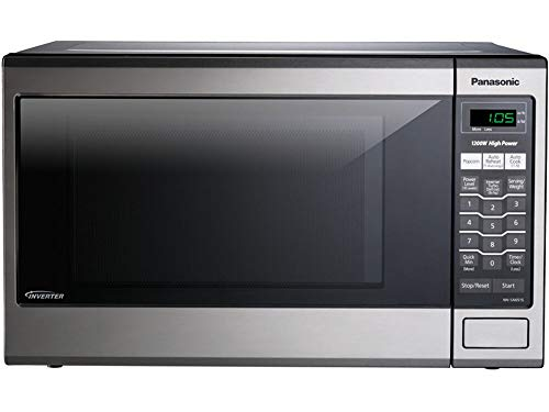 Panasonic U905265C Stainless Steel Microwave Oven, 1.2 cu. ft, 1200W, Silver