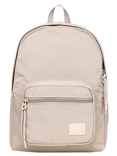HotStyle MOREPURE 225s Small Backpack for Women & Girls, Plain Bookbag Purse Cute for Work Travel Everyday, Wheat