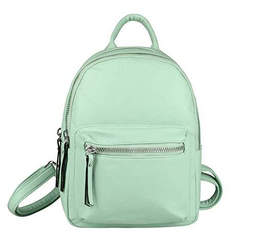 OBC Only-Beautiful-Couture Zaino Casual Verde Grün 25x28x12 Cm ca.: 25x28x12 cm
